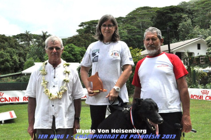 Championnat de Polynéie de chien de défense 2013