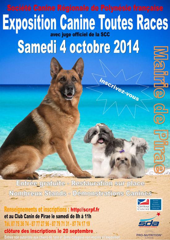 Exposition Canine Toutes Races et confirmations de chiens de race