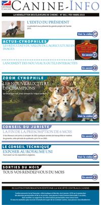 Canine-info s'adresse aux éleveurs de chiens