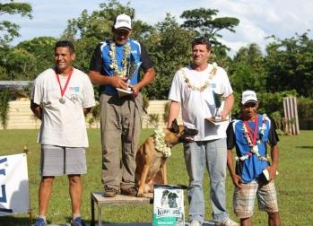 Java et Marcel champions de Polynésie 2017 en Ring