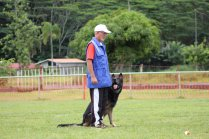 Pierrick et son chien Aldir
