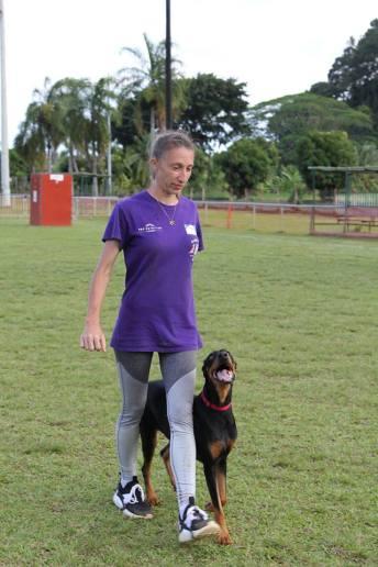 Zorra et Louise, en troisième position avec un qualificatif Bon